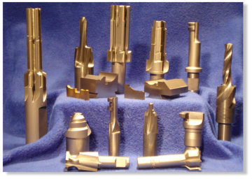 Specializing in Cam Ground End Working Tools Both HSS and Carbide
